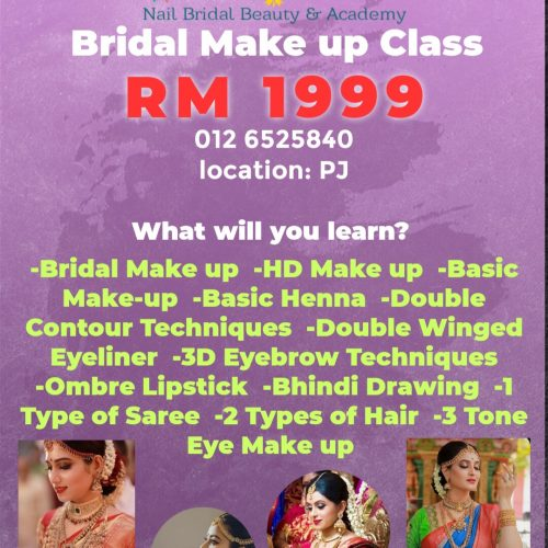 Bridal Make up Classes