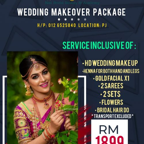 Wedding Makeover Package